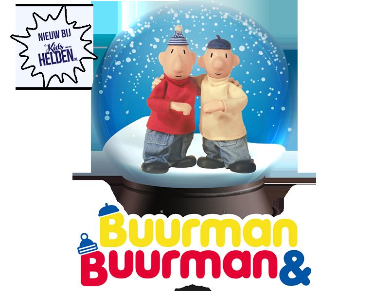 Buurman & Buurman, Snowglobe, winkelcentrumpromotie, snowglobe bekende characters