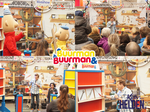 kindershow, winkelcentrumpromotie, Buurman & Buurman, show, kinderen