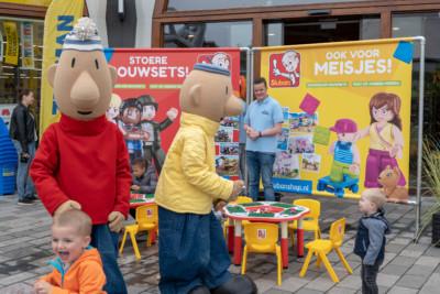 Kidsheldenfestival, winkelcentrummpromtie