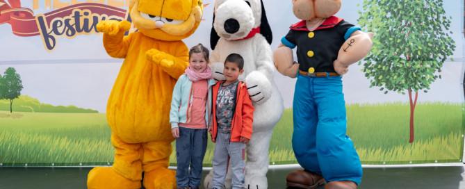 Kidshelden, Kidsheldenfestival, winkelcentrumpromotie, tv karakters
