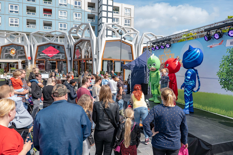 winkelcentrumpromotie, Kidshelden, Kidsheldenfestival, tv karakters